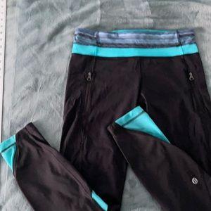 LuluLemon athletic cropped leggings